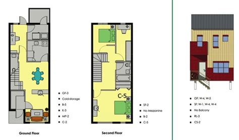 modern row house plans modern row house plans google search row house plan pinterest