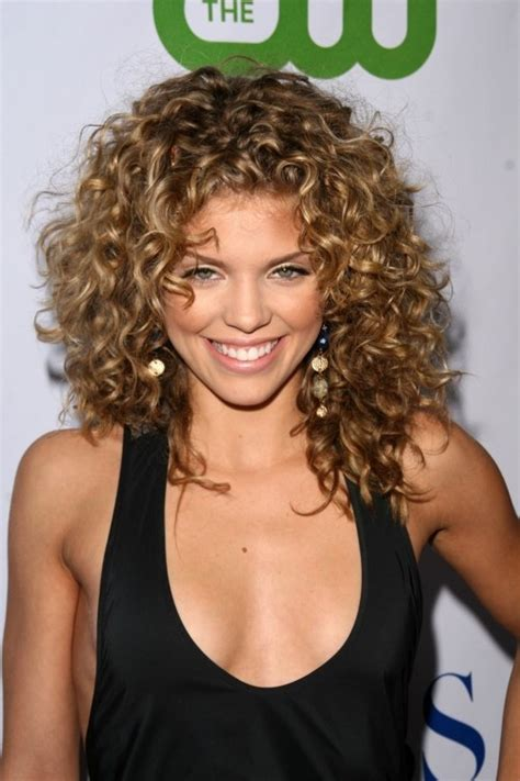 haircuts and colors for curly hair celebrity shoulder length curly hairstyle for women