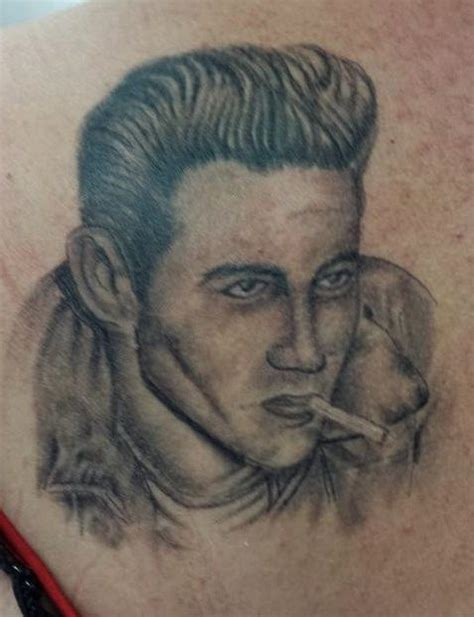 james dean tattoo dean
