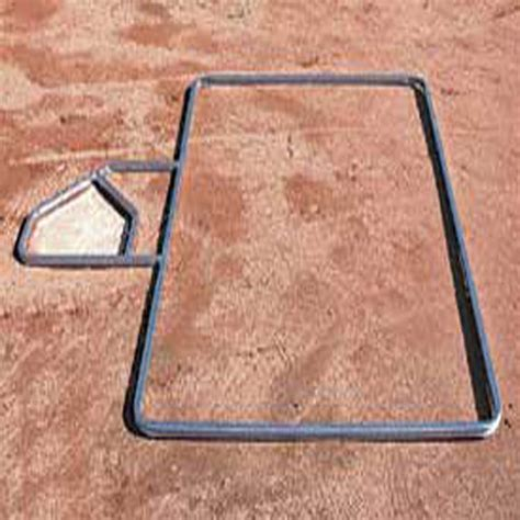 batters box template standard batters box template softball 3 x 7