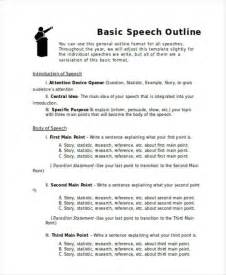 Sle Icebreaker Speech speech outline template 28 images 28 images speech