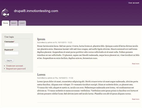 drupal themes change color changing color sets for themes in drupal 8 inmotion hosting