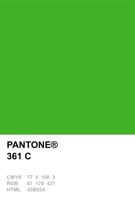 color c pantone 361 c pantone colour recipes
