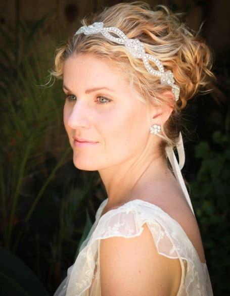 mesmerizing wedding hairstyles  short hair