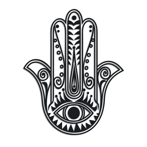 hand pattern meaning hamsa protection symbol patterns stencils pinterest