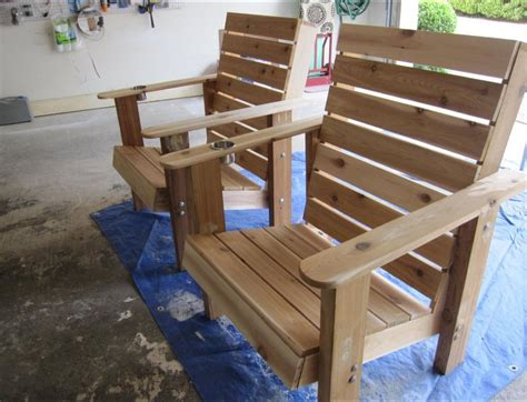 ana white outdoor patio deck chairs diy projects