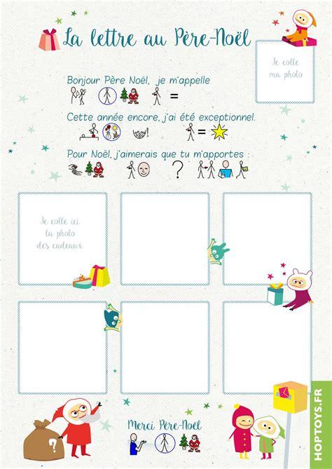 Modele De Lettre Pour Le Pere Noel Gratuit A Imprimer