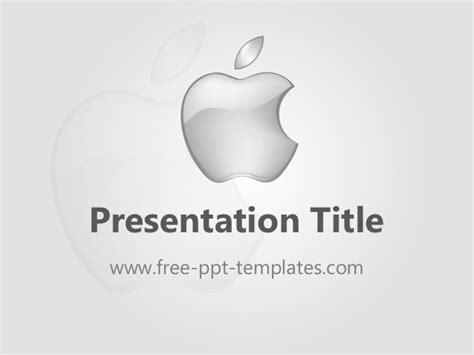 Apple Ppt Template Apple Powerpoint Template