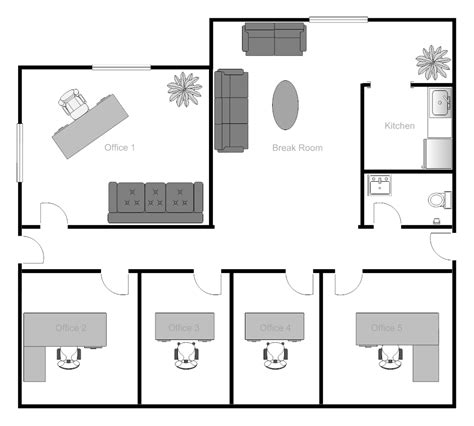 floorplan layout exle image office building floor plan office design