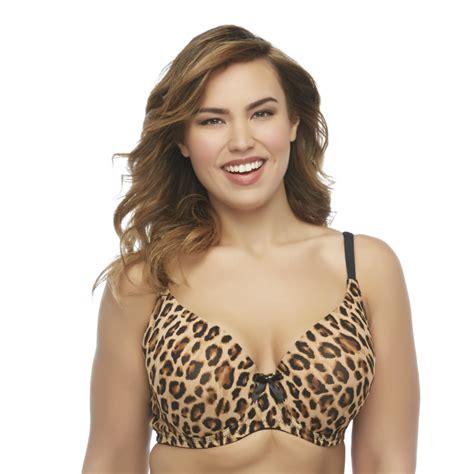 Leopard Push Up Bra pink k s leopard print light push up bra 4170