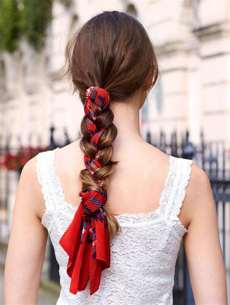 scarf braided hairstyles 2016 braid hairstyles 2016 this year s most stylish plaits
