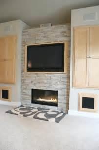 living room fireplace built in cabinet detail modern