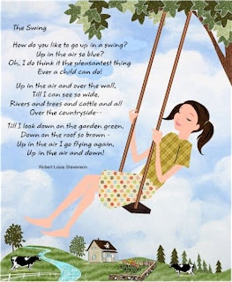 the swing poem by robert louis stevenson the swing by robert louis stevenson books worth