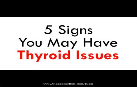 15 Signs You Metabolism Problems by 5 Signs Of Thyroid Disease