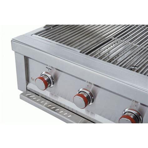 sunstone ruby 36 inch 4 burner pro sear grill