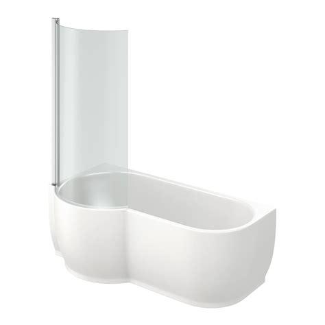 bathtub shapes mode maine left handed p shaped shower bath and shower screen victoriaplum com