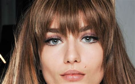 cortes de pelo corto desfilado cortes de pelo con flequillo primavera verano 2018