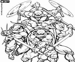 ninja turtles weapons coloring pages the ninja turtles with the weapons coloring page printable