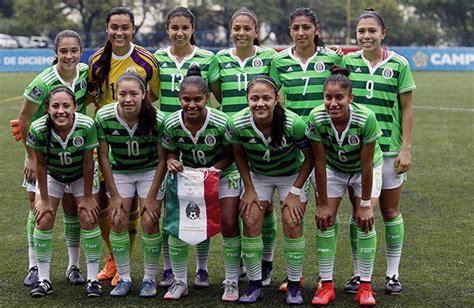 inici 243 torneo de futbol femenil en la seleccion femenil de mexico la selecci 243 n femenil sub