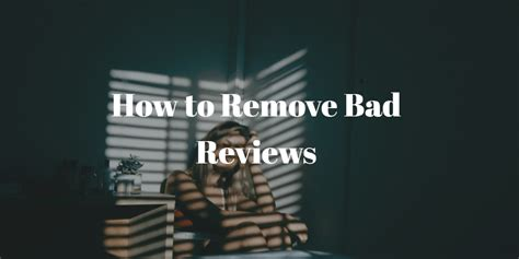 remove negative reviews from glassdoor are bad reviews hurting your business here is what you need to do bytekid