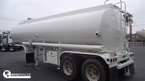 Blockers Trailer 2 Mono Block Tanker Semi Trailer 2 Axle