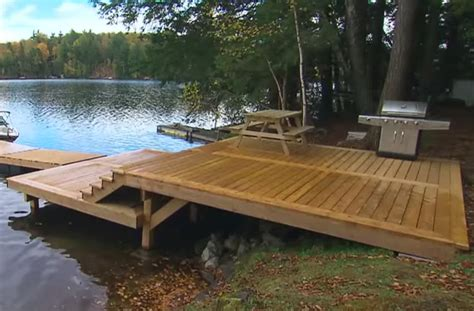 Cottage Docks by Decks Docks And Gazebos Building A Shoreline Deck