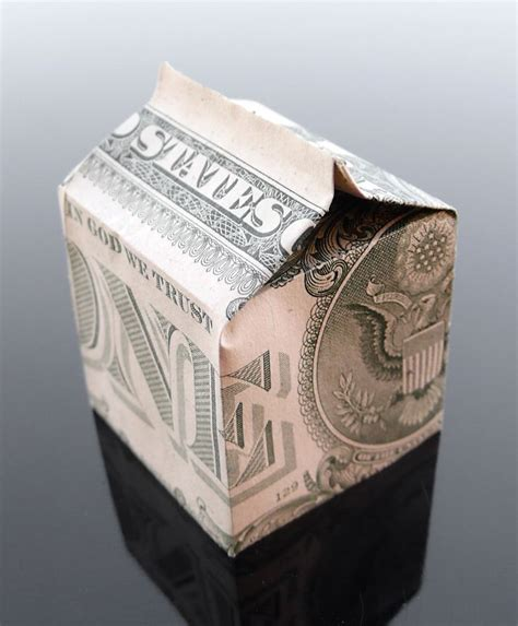 Origami Milk - 17 best images about made of money on dollar
