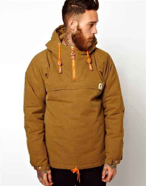 Jaket Parka Brown lyst g moose sailor anorak jacket in for