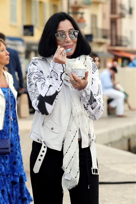 cher latest pictures of 2016 cher out and about in saint tropez 06 16 2016 hawtcelebs