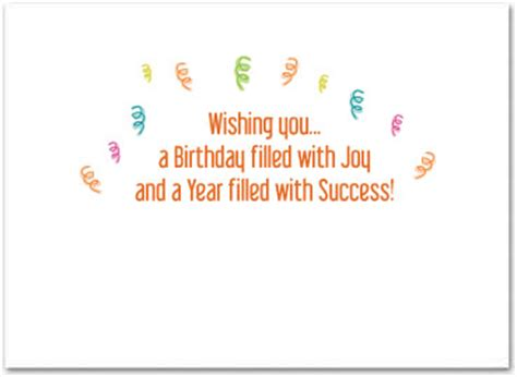 inside birthday card template business birthday cards employee birthday cards