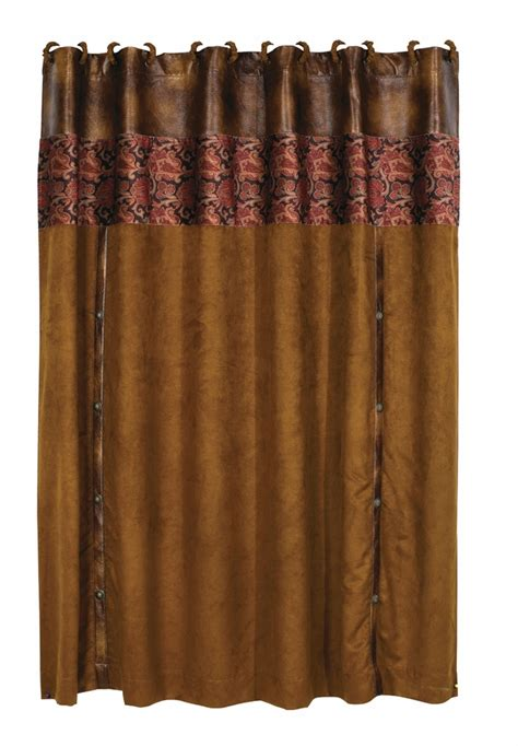 western curtains hxws4068sc austin western shower curtain