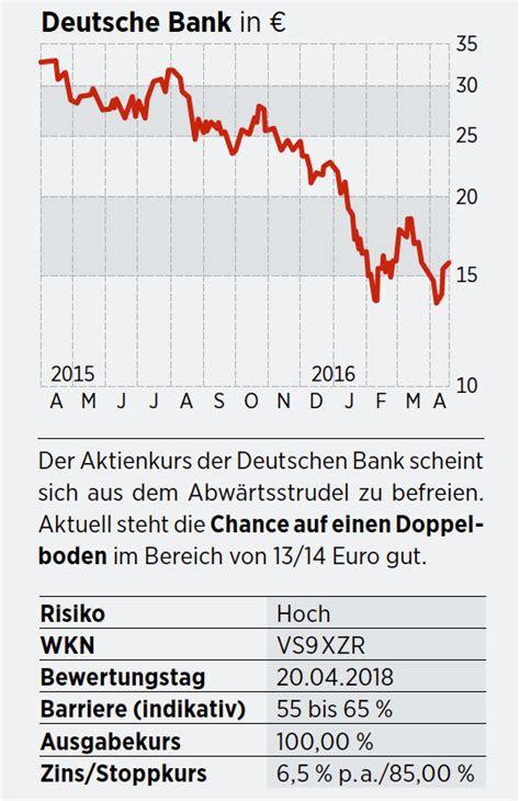 aktienanleihe deutsche bank deutsche bank commerzbank banco sanstander bnp paribas