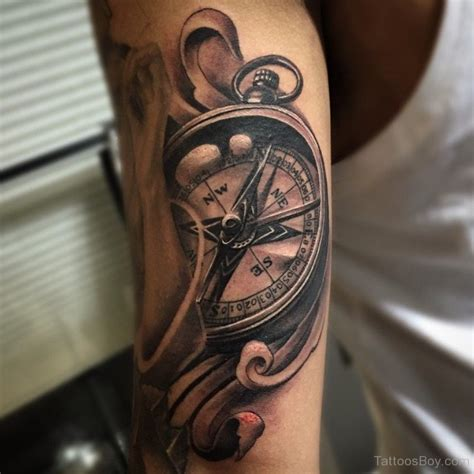 compass tattoo on bicep tattoo designs tattoo pictures