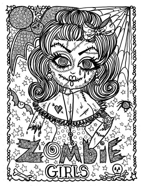 anti stress colouring book tesco 90 best coloring page horror images on