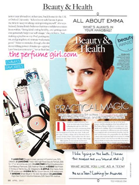 emma watson perfume april 2012 magazine perfume ads fashion fragrances