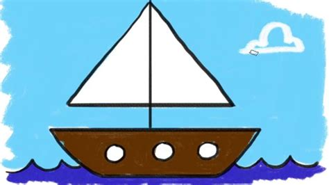 how to draw a speedboat easy how to draw a simple boat 13 learn the easy way to draw a