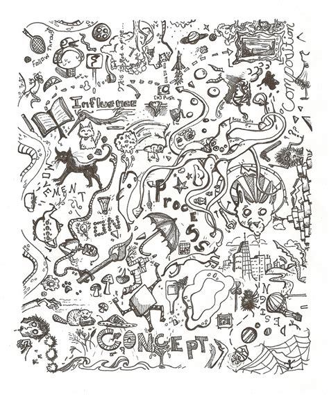 doodle names generator random doodles bess a yontz illustration