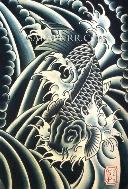 tattoo japanese wind wind bars sara purr tattoo