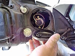Mercedes Light Bulb Replacement Replace Headlight Bulbs On A Mercedes M Class Ml320 2004