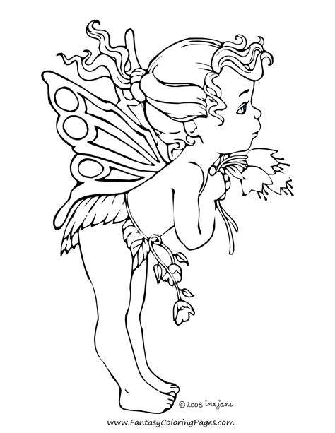 coloring pages fantasy coloring pages