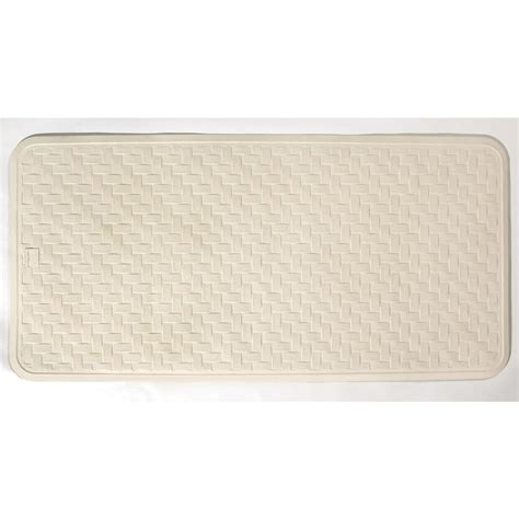 Rubber Bath Mats For Tubs by Rubber Tub Mats Shower Accessories The Home Depot