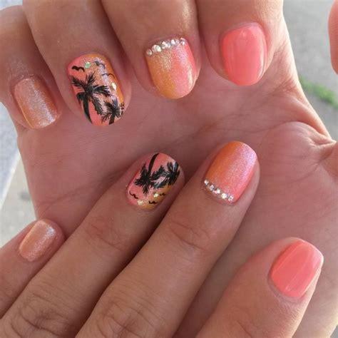 21 sunset nail art designs ideas design trends