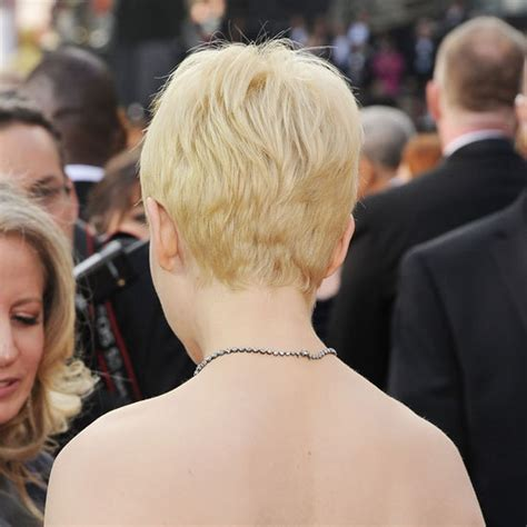 Michelle Williams From the Back   See the Hottest Oscars