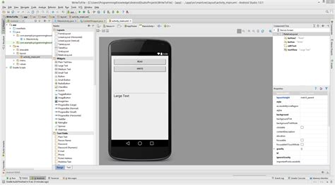android write to file android studio how to save a file on storage read write