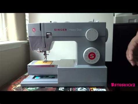 Singer Heavy Duty Hd 4432 unboxing singer 4432 heavy duty machine and project updates betoskickz