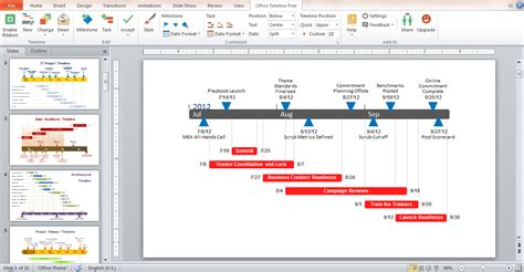 The World S 1 Free Timeline Maker For Powerpoint Just Got Office Timeline Free