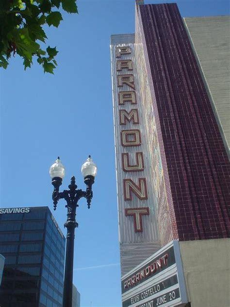paramount theatre oakland ca california historical