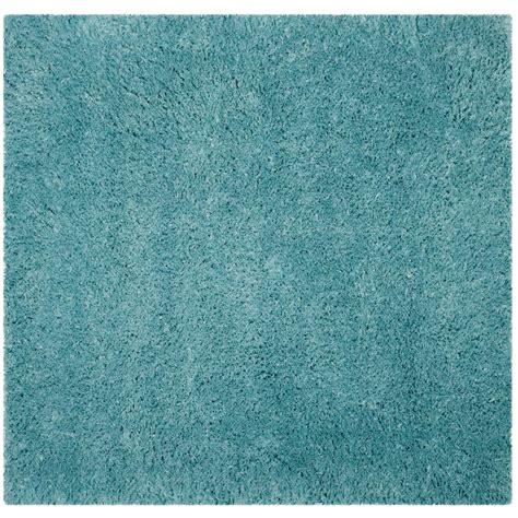 light aqua area rug safavieh polar shag light turquoise 6 ft 7 in x 6 ft 7 in square area rug psg800t 7sq the