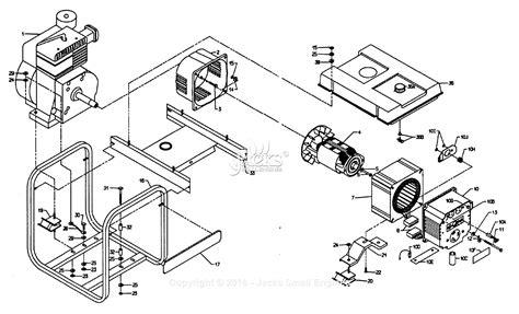 coleman powermate 5000 parts diagram powermate formerly coleman pm0544208 parts diagram for