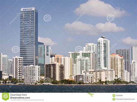 imagenes edificios miami panorama de miami la florida de edificios c 233 ntricos fotos